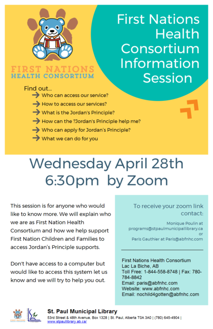 First Nation Health Consortium information session